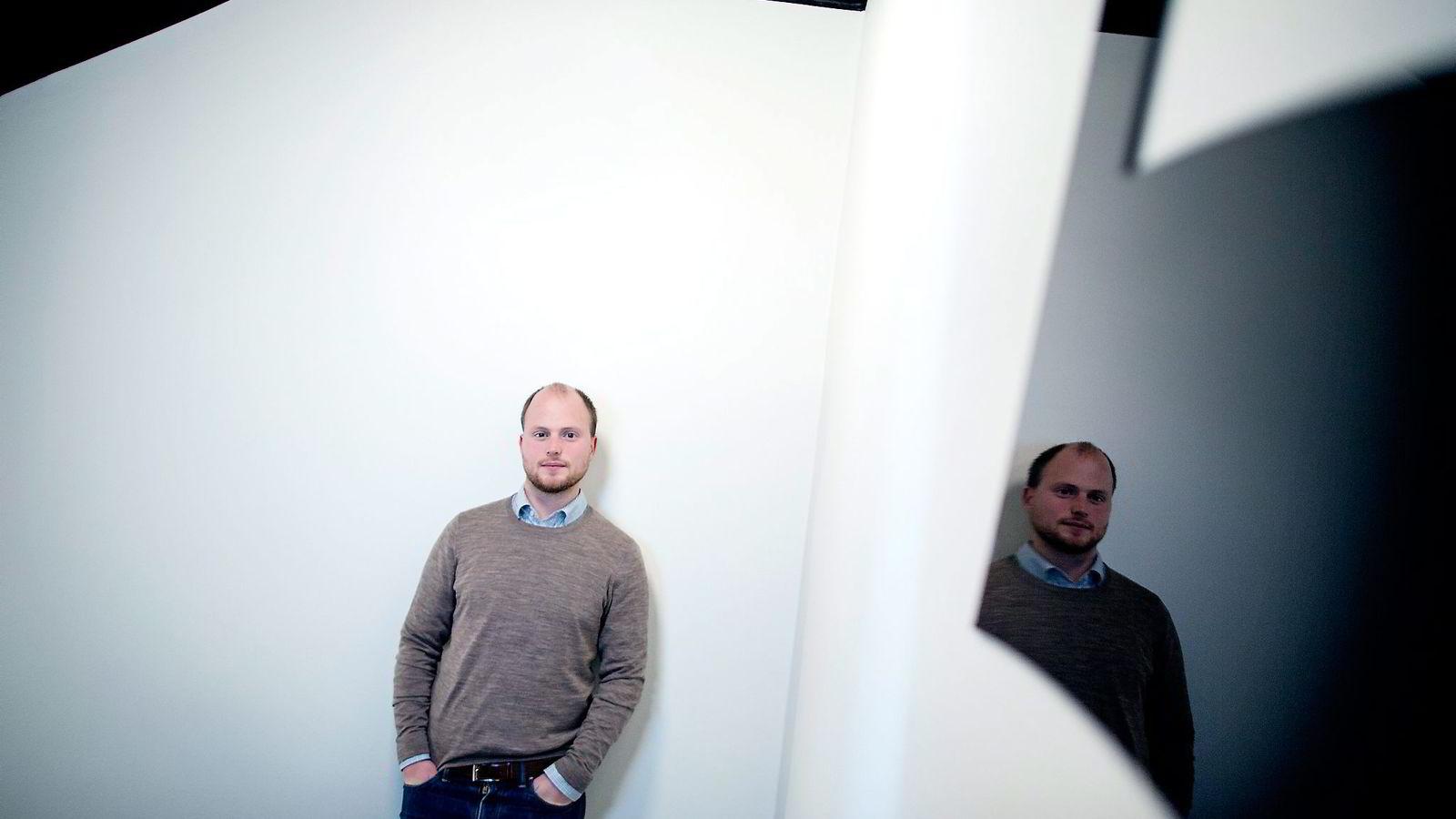 Civitas Haakon Riekeles har utredet mulighetene for statlige besparelser. Foto: Ida von Hanno Bast