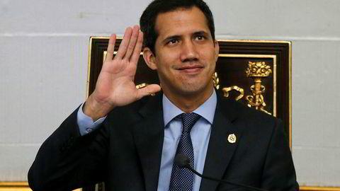 Juan Guaido, leder av nasjonalforsamlingen, opposisjonsleder og selvutnevnt president i Venezuela, risikerer nå å bli straffeforfulgt.