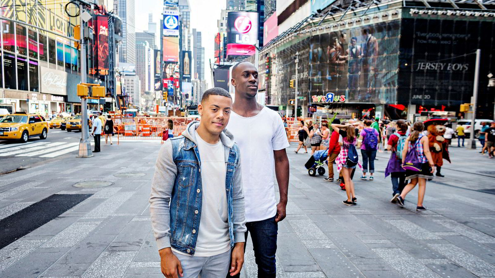 Onsdag ettermiddag kom nyheten at Nicolay Sereba (til venstre) og Vincent Dery bryter med Amanuel Kidane, som har vært duoens manager siden 2009.