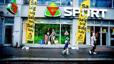 Espen Braaten og Gresvig har åpnet 15 G-Max varehus de siste årene, men sportskonsernet har ikke fisket markedsandeler. Nå tror han at restruktureringen vil gi effekt i form av vekst. Foto: Jo Straube