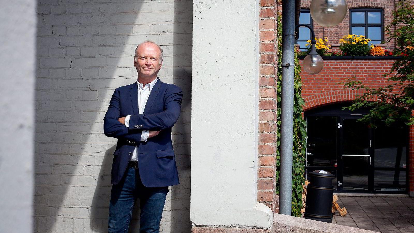 Daglig leder Olav T. Øen sier produksjonsbransjen merker de usikre tidene i tv- og mediebransjen. Foto: