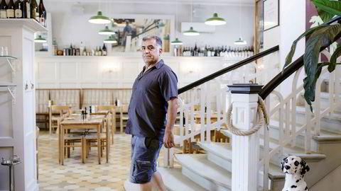 Restaurantgründer Nevzat Arika mener restaurantmarkedet i Oslo er overetablert og venter på å gjøre nyinvesteringer til det roer seg. Foto: Nicklas Knudsen