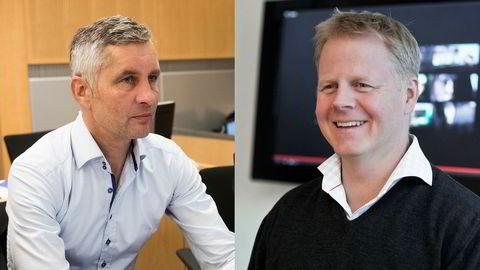 Torleif Ahlsand (til venstre) fikk ikke mulighet til å endre dommen på ti måneders fengsel. Trond Arne Aas' dom på 21 dagers betinget fengsel blir også stående.