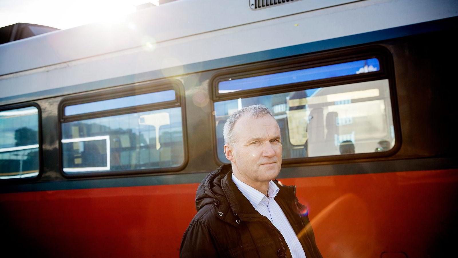 NSBs konsernsjef Geir Isaksen leverte gode tall for 2015.                Foto: Fredrik Bjerknes