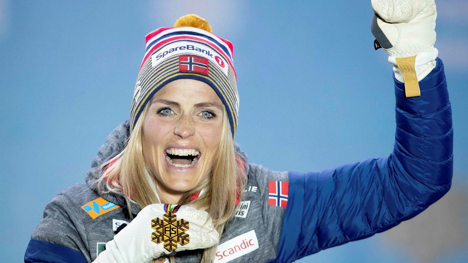 Therese Johaugs gullmedalje var med å gi NRK markedsandeler på 40 prosent.