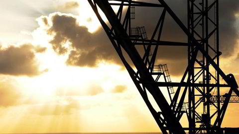 Utbyggingsplanen for prosjektet Tor II ble mandag overlevert til Olje- og energidepartementet. Her fra Oseberg feltsenter.