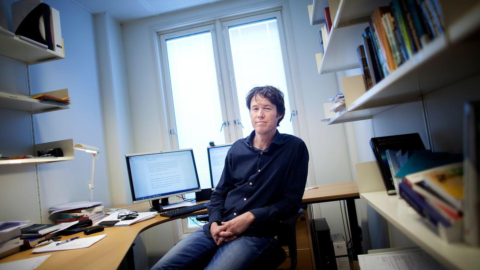 Ola Kvaløy, professor i økonomi, Handelshøgskolen ved Universitetet i Stavanger og NHH.
