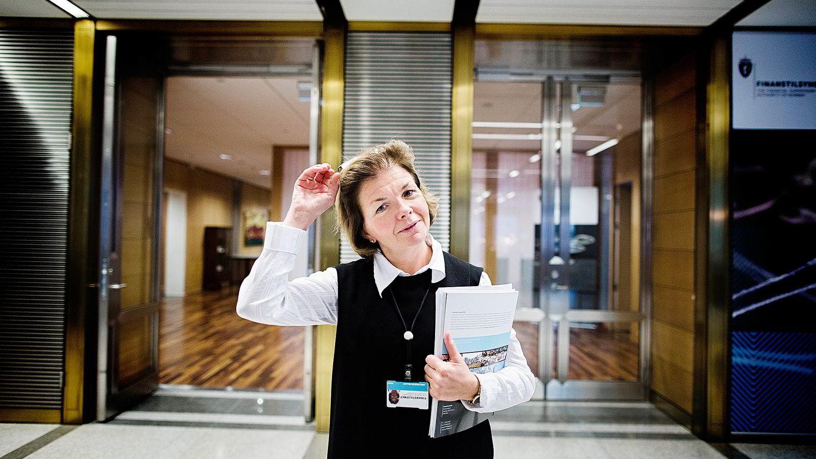 Nordea har fått brev fra Finanstilsynet, hvor direktør Anne Merethe Bellamy skriver at aksjefondet Nordea Avkastning ikke «har gitt sine andelseiere en realistisk mulighet til meravkastning». Foto: Per Thrana