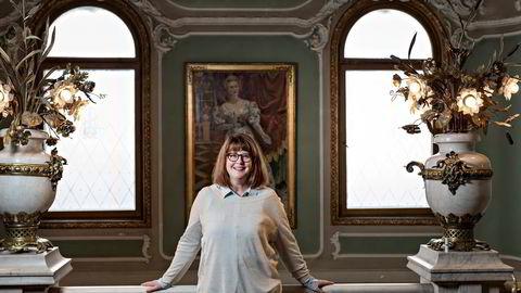 Teatersjef Hanne Tømta kan glede seg over ny publikumsrekord på Nationaltheatret ifjor. Foto: Aleksander Nordahl