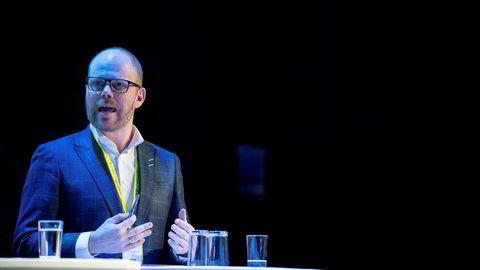 Toppmøtet under Nordiske Mediedager 2019. Gard Steiro, VG. Foto: Eivind Senneset, Dagens Næringsliv