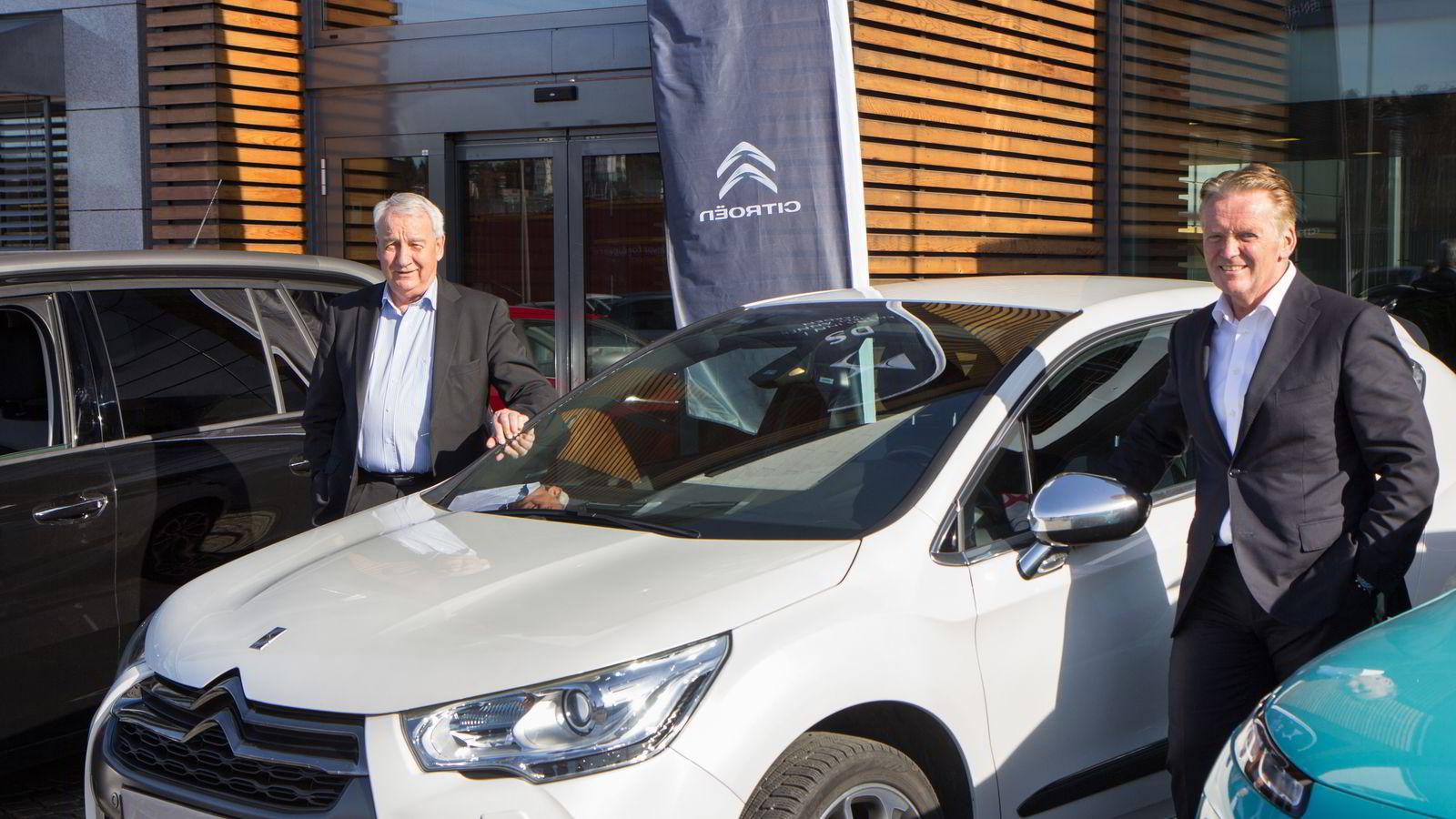 Jan Pettersen blir ny sjef for Citroën når Bertel O. Steen og konsernsjef Bjørn Maarud overtar eierskapet.