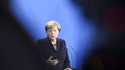 Tysklands forbundskansler Angela Merkel. Foto: Tobias Schwarz, AFP/NTB Scanpix