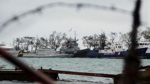 I november 2018 ble tre ukrainske skip stoppet av russiske styrker ved Krim-halvøya. Krim er tapt til Russland, og det neste realpolitiske spørsmålet blir hvordan opprøret i Øst-Ukraina kan løses.
