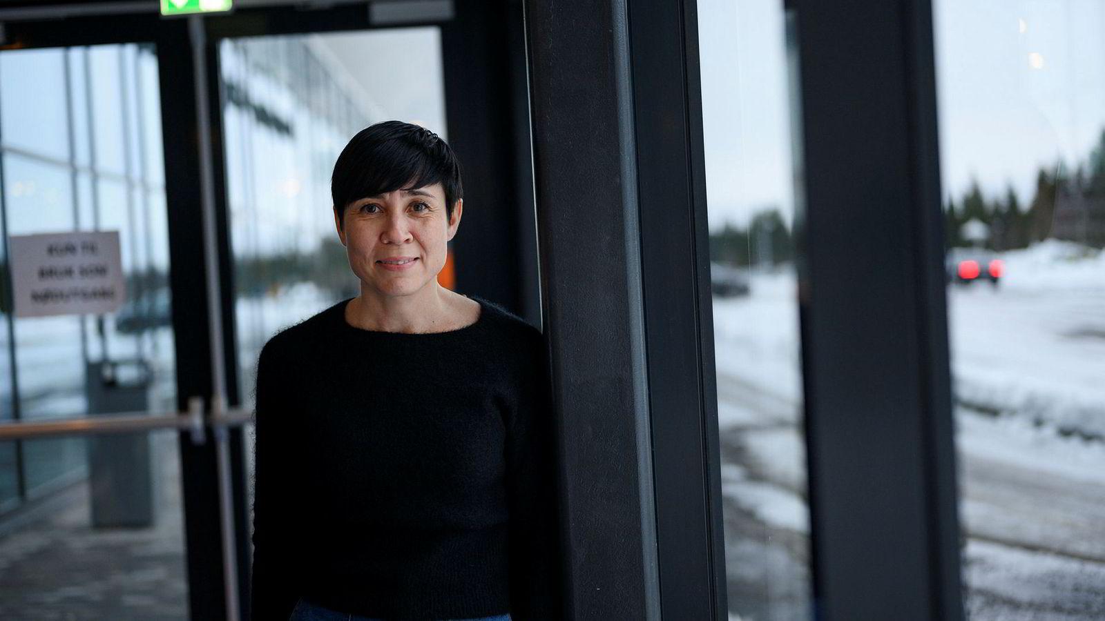 Utenriksminister Ine Eriksen Søreide sier handelskrigen mellom Kina og USA truer norske jobber.