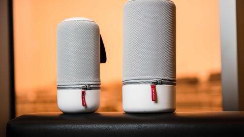 Libratone Zipp og Zipp Mini ser bra ut, spiller bra og er svært fleksible, men tilkoblingsfeil skaper noen utfordringer.                   Foto: Per Thrana