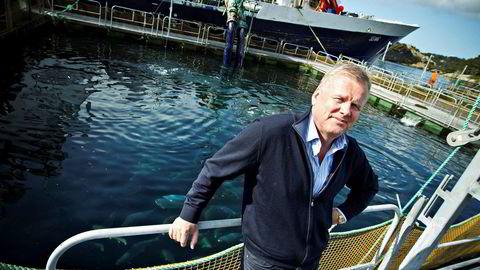 Helge Møgster og hans familie på Austevoll har bygget opp enorme verdier i investeringsselskapet Laco, mye basert på oppdrett. Den bokførte egenkapitalen er kommet opp i 28 milliarder kroner.