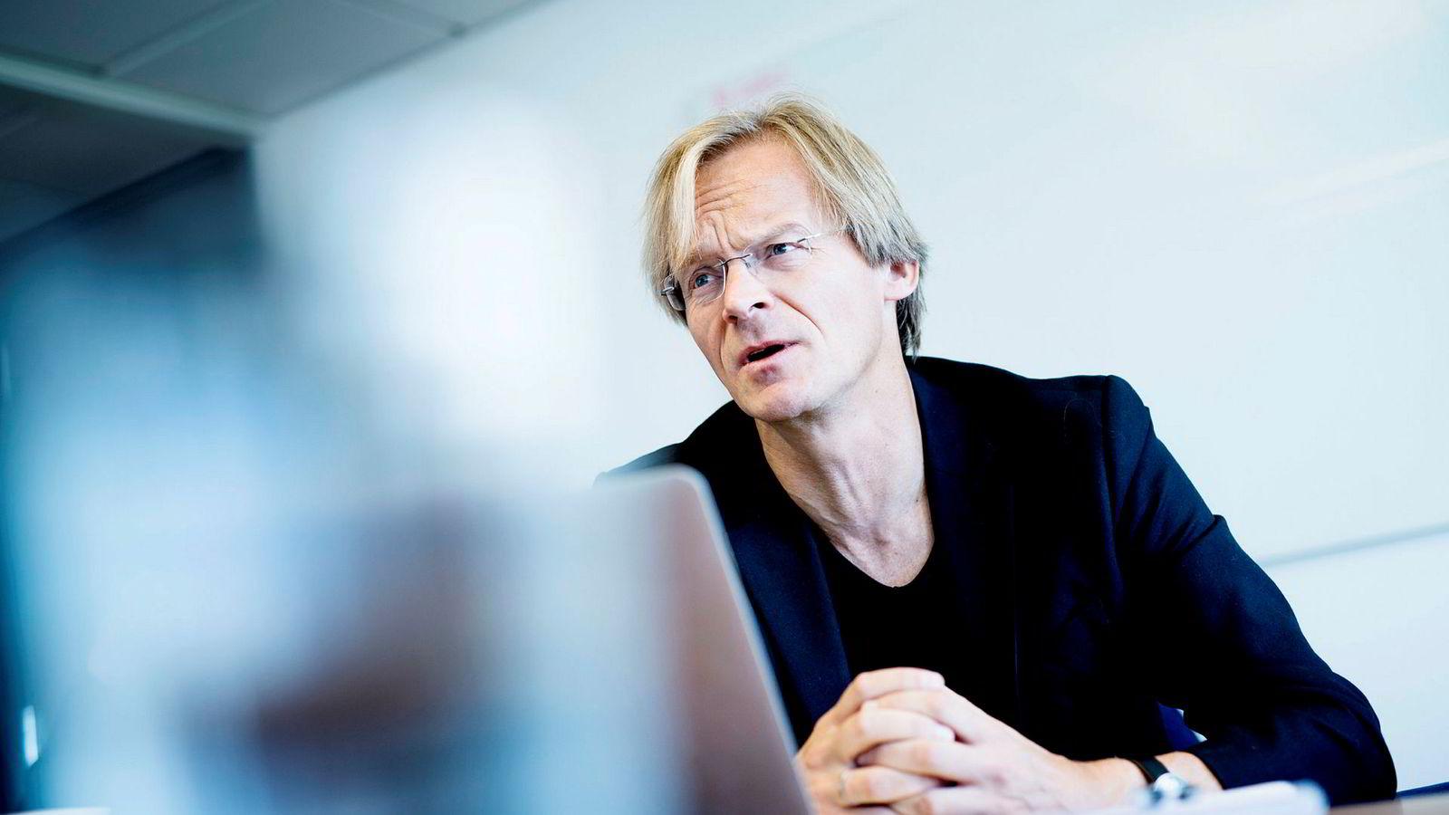 Bjørn Stray, partner og en av grunnleggerne av vekstfondet Northzone.