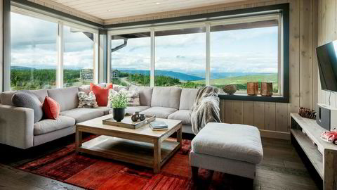 Denne leiligheten på Kikut på Geilo med en prisantydning på 5,5 millioner kroner, ble solgt for 6,2 millioner kroner forrige uke.