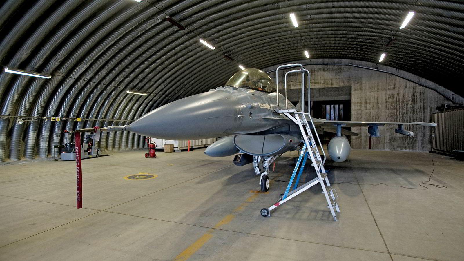 En norsk F-16-skvadron deltok i den internasjonale militære intervensjonen i Libya i 2011.
