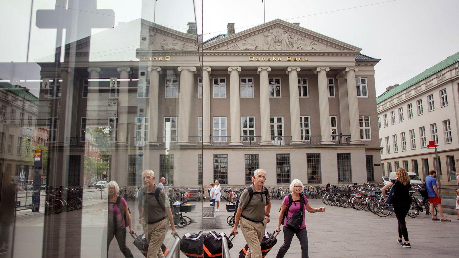 Danske Bank er i hardt vær. Her fra kontoret i København.