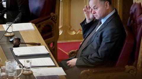 Stortingets presidentskap, med stortingspresident Olemic Thommessen i spissen, får krass kritikk.