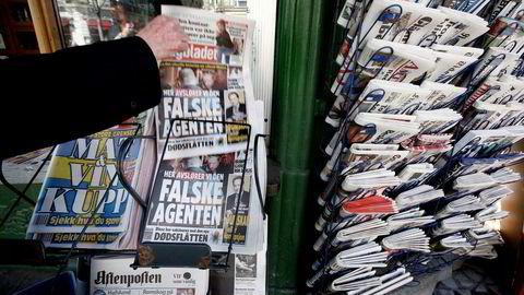 Hold deg oppdatert med presseklipp fra TDN Finans. Foto: Fredrik Naumann