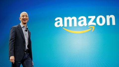 Grunnlegger og toppsjef i Amazon, Jeff Bezos.