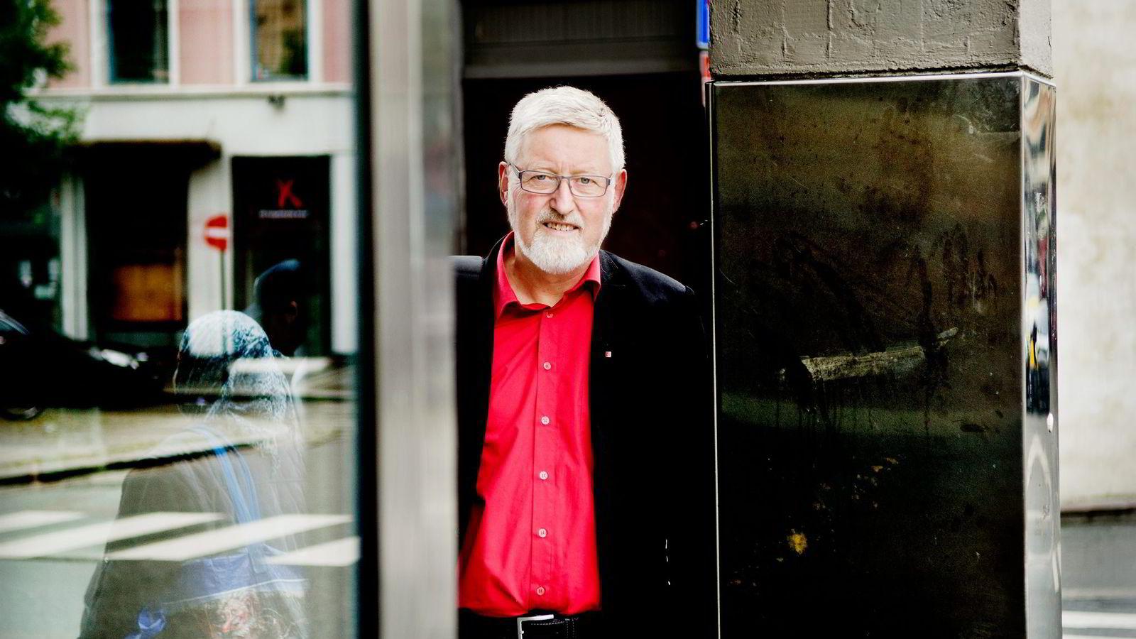 Nestleder Tor-Arne Solbakken, LO.