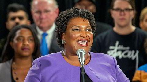 Stacey Abrams pekes på som Joe Bidens visepresidentkandidat.