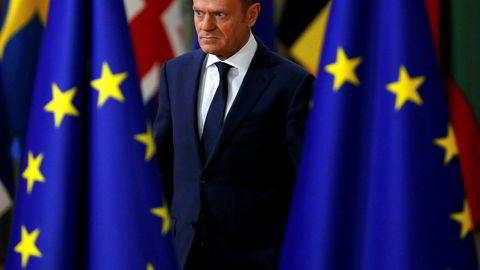 EU-president Donald Tusk mener forslaget om obligatoriske asylkvoter er splittende.