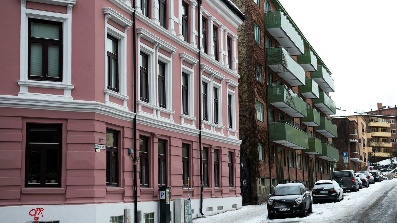 Eiendom Norge venter en oppgang i de nominelle prisene i de fleste store byene i Norge, noe som i sum vil gi en moderat oppgang i boligprisene i landet under ett i 2019. Her fra Bislett i Oslo.