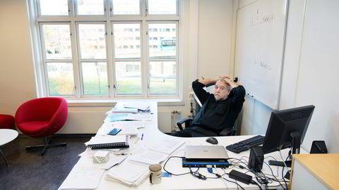 Westerdals-rektor Bjørn Jarle Hanssen erkjenner at skolens film- og tv-linje var en egen studieretning. Nå skal Kunnskapsdepartementet vurdere om studiet har fått statsstøtte på feil grunnlag. Foto: