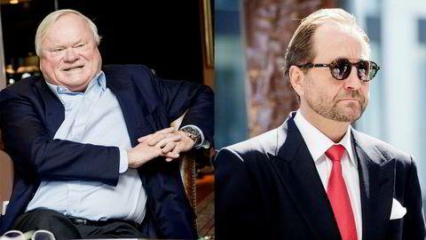 Konsolideringen av offshoresektoren i kjølvannet av oljesmellen i 2014 har satt John Fredriksen (til venstre) og Kjell Inge Røkke i samme båt gjennom Solstad Offshore. Hittil har dét vært en stormfull seilas.