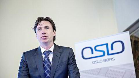 RETTSKRAFTIG. -Nå har vi fått en avklaring, sier Øivind Amundsen, juridisk direktør ved Oslo Børs. Foto: Aleksander Nordahl