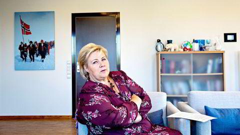 Statsminister Erna Solberg la fredag kveld i forrige uke frem sitt ultimatum, og krevde svar fra de andre partiene. Etter at Frp og KrF sa nei, ble det gjort en endring i skissen.