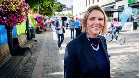 – Det er et mål, men det ser langt fra mulig ut å nå det allerede så raskt, sier Sylvi Listhaug (Frp).