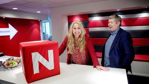 Tine Austvoll Jensen ble presentert som Discovery Networks' nye toppsjef i Norge tirsdag. TVNorges programdirektør, Eivind Landsverk, får også nye ansvarsområder.