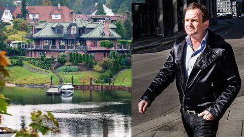 TIL SALGS. Dag Høili selger boligen sin på Nesøya med prisantydning 66 millioner kroner. FOTO: Kristine Nyborg/Per Thrana