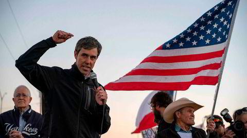 Demokraten Beto O'Rourke, tidligere kongressrepresentant fra texas, stiller etter all sannsynlighet som presidentkadidat i USA.