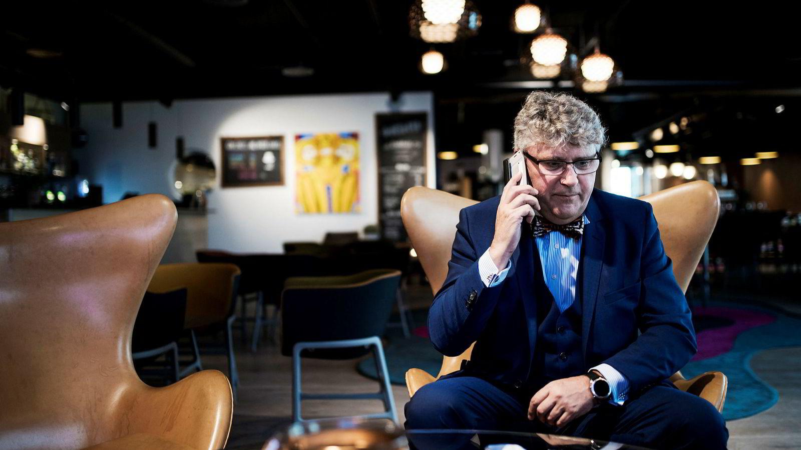 Administrerende direktør i oljeselskapet Okea Erik Haugane deltok på operatørkonferansen i Stavanger.