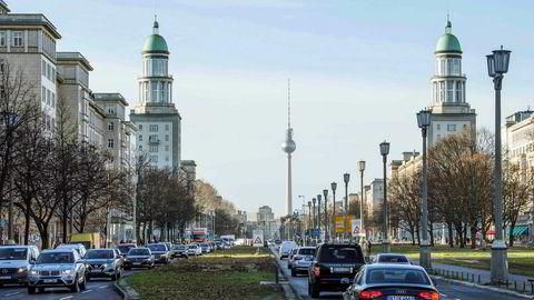 Leiligheter i Karl-Marx-alleen skal hjelpe på boligutfordringene i den tyske hovedstaden.