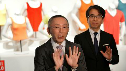 Tadashi Yanai, administrerende direktør og grunnlegger av Fast Retail, som eier klesmerket Uniqlo, tok over for faren som var skredder. Nå vil han at en kvinne skal ta over for ham.
