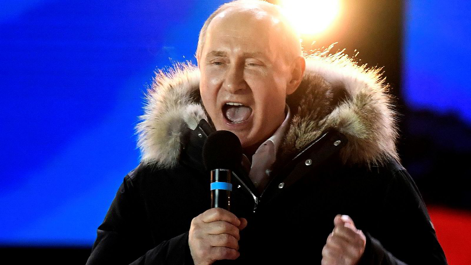Russlands president Vladimir Putin er ikke fornøyd over russernes musikkpreferanser.