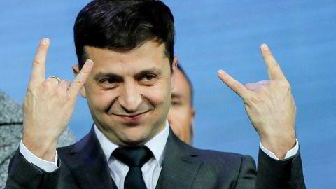 Volodymyr Zelenskyj har hatt en uortodoks valgkamp der han har brukt sosiale medier flittig til å tiltrekke seg velgere.