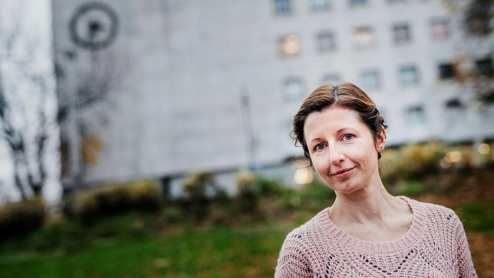 Laurie MacGregor er sosiale medier-rådgiver i NRK.