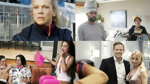 Tv-markedet preges av at stadig mer av tv-seingen skjer på strømmetjenester som Netflix, Dplay, NRK TV og TV 2 Sumo. Her er Ane Dahl Torp i NRKs «Heimebane», «Side om side», «Ex on the beach» og «Bloggerne».