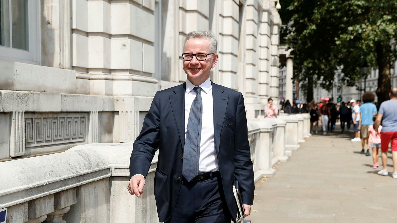 Michael Gove er skuffet over at EU ikke finner grunnlag for en ny runde med brexit-forhandlinger med britene. Gove er britisk statsråd uten portefølje, men med ansvar for å forberede brexit.