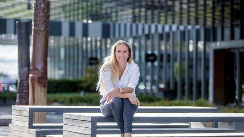 Nina Jensen (42) leder Rev Ocean, et privatfinansiert havforskningsprosjekt som skal bygge både forskningsskip og 200 meter høyt hovedkvarter på Fornebu.