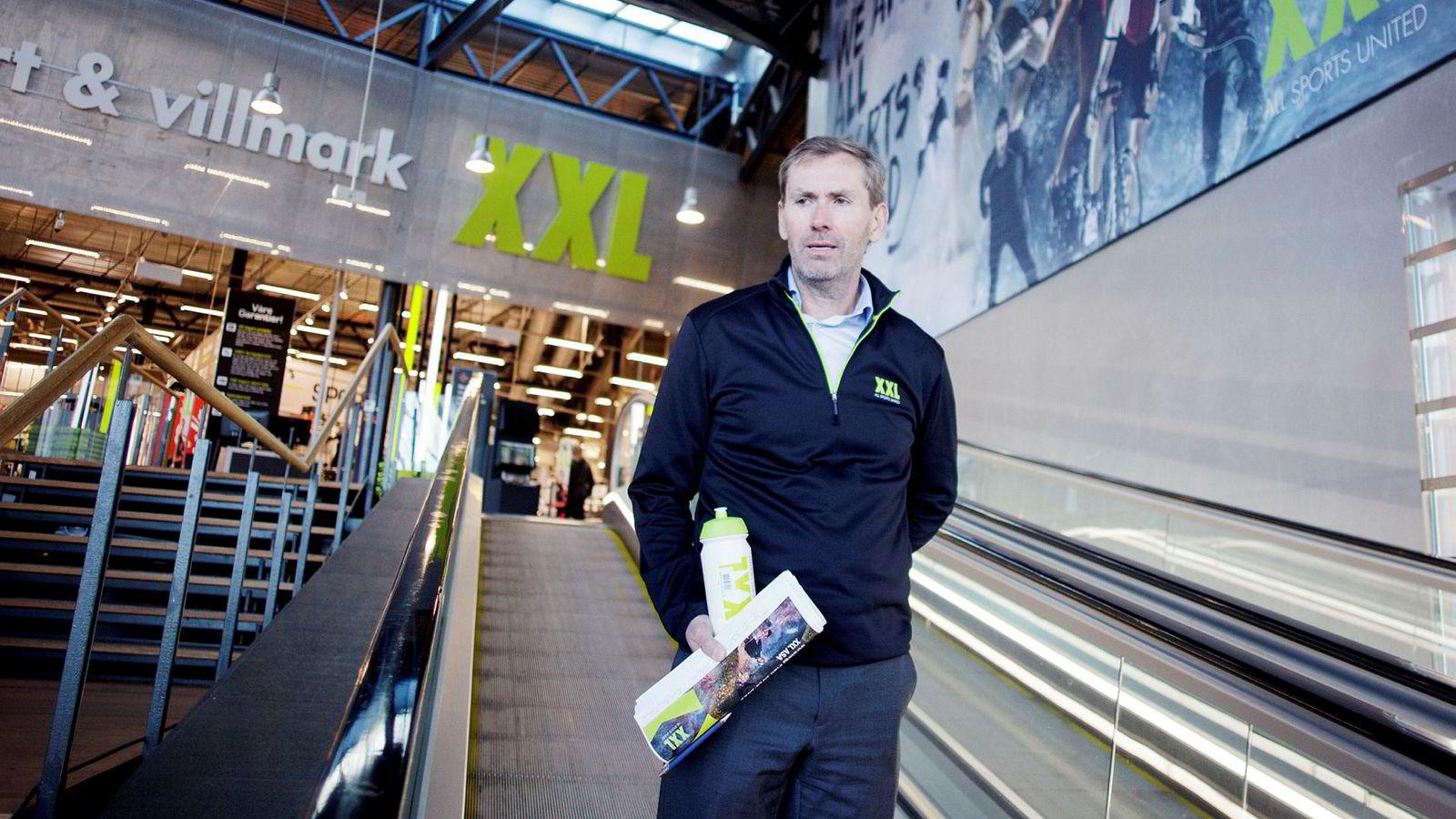 XXL toppsjef Ulf Bjerknes slutter.