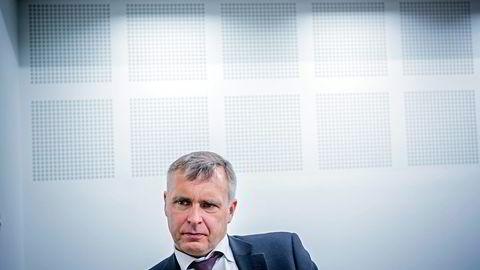 Norske Skog-sjef Sven Ombudstvedt.                   Foto: Johannes Worsøe Berg